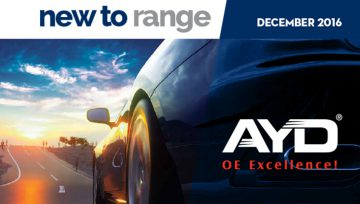 AYD® New to range - DECEMBER 2016